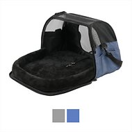 Gen7Pets Carry-Me Sleeper Pet Carrier, Heather Navy