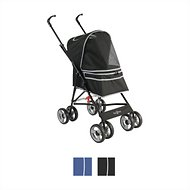 Gen7Pets Journey Pet Stroller, Black