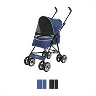 Gen7Pets Journey Pet Stroller, Navy