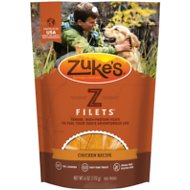 Zuke's Z-Filets Chicken Recipe Grain-Free Dog Treats, 6-oz bag