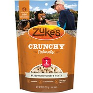 Zuke's Crunchy Naturals 2s Baked With Yogurt & Honey Dog Treats, 9-oz bag