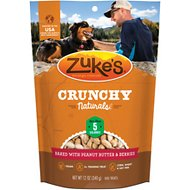 Zuke's Crunchy Naturals 5s Chicken-Free Baked With Peanut Butter & Berries Dog Treats