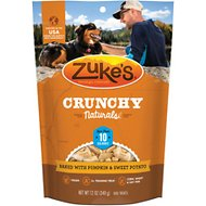 Zuke's Crunchy Naturals 10s Baked With Pumpkin & Sweet Potatoes Dog Treats, 12-oz bag