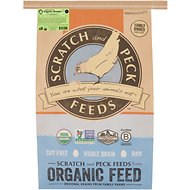 Scratch and Peck Feeds Naturally Free Organic Grower Chicken & Duck Feed, 25-lb bag