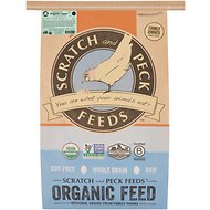 Scratch and Peck Feeds Naturally Free Organic Layer Chicken & Duck Food, 25-lb bag