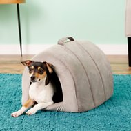 Best Friends by Sheri Ilan Igloo Dog & Cat Bed, Grey