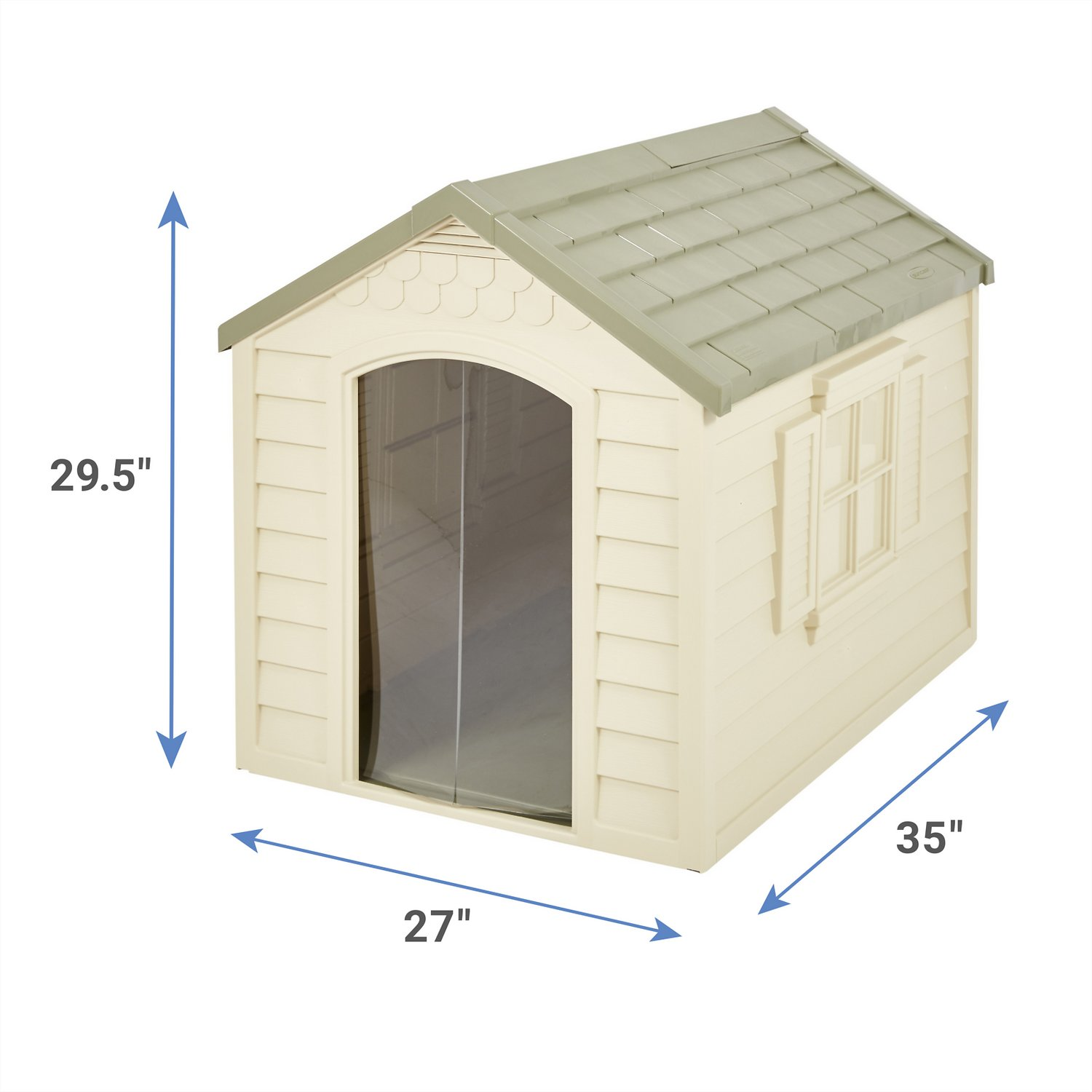 suncast dh250 deluxe dog house chewycom With chewy dog houses