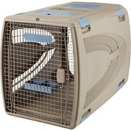 Suncast Deluxe Brown Pet Carrier