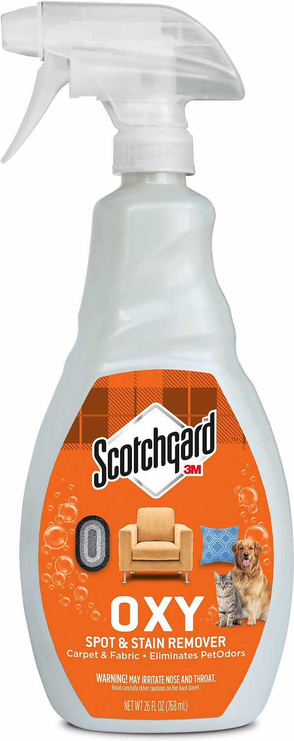 Scotchgard Oxy Carpet Amp Fabric Spot Amp Stain Remover 26 Oz