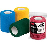 3M VetRap Assorted Colors Equine Bandaging Tape, 3-inch, 12 count