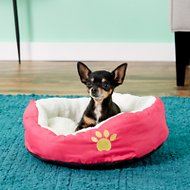 Evelots Small Soft Pet Bed, Pink