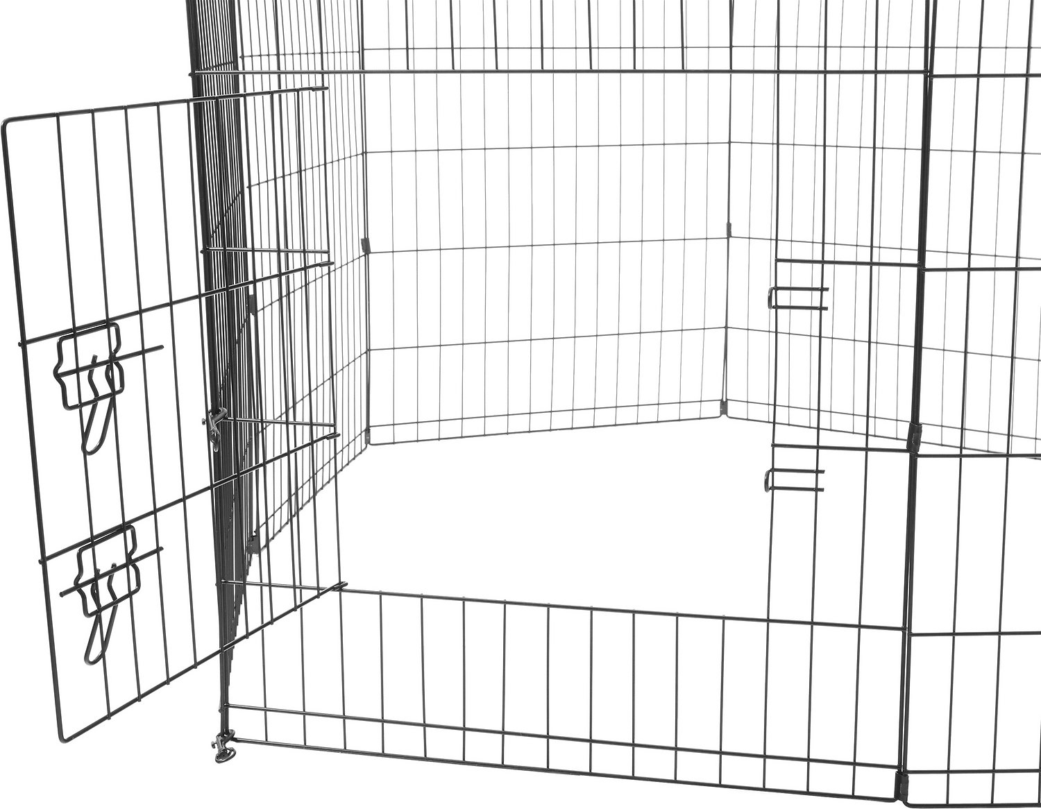 Paws Amp Pals Collapsible Wire Exercise Pen 30 In Chewy Com