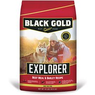 Black Gold Explorer Beef Meal & Barley Formula Dry Dog Food, 40-lb bag