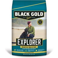 Black Gold Explorer Ocean Fish Meal & Oat Formula Dry Dog Food, 40-lb bag