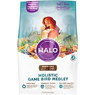 Halo Holistic Game Bird Medley Recipe Grain-Free Puppy Dry Dog Food, 10-lb bag