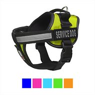 Dogline Unimax Multi Purpose Service Dog Harness, Lime Green, X-Small