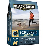Black Gold Explorer Ocean Catch Formula with Salmon & Whitefish Grain-Free Dry Dog Food, 28-lb bag