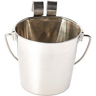 Indipets Heavy Duty Pail with 2 Hooks, 1-quart