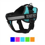 Dogline Unimax Multi Purpose Do Not Pet Dog Harness, Turquoise, X-Small