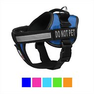 Dogline Unimax Multi Purpose Do Not Pet Dog Harness, Blue, Large