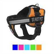 Dogline Unimax Multi Purpose Do Not Pet Dog Harness, Orange, X-Large