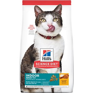 Hill's Science Diet Adult 11+ Indoor Chicken Recipe Dry Cat Food