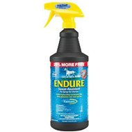 Farnam Endure Sweat Resistant Horse Fly Spray, 40-oz (Bonus bottle)