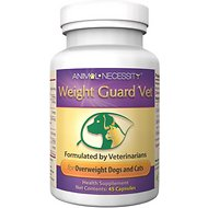 Animal Necessity Weight Guard Vet Natural Health Dog & Cat Supplement, 45 count