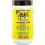 Poop-Off Bird Poop Remover Anywhere Wipes, 70 count