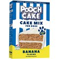 Pooch Cake Banana Cake Mix & Frosting Dog Treat, 9-oz box