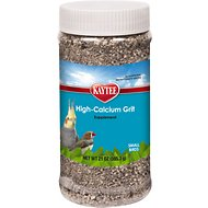 Kaytee Forti-Diet Pro Health Hi-Calcium Grit Bird Supplement, 21-oz jar