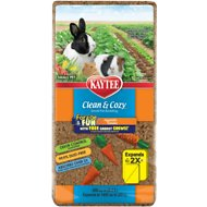 Kaytee Clean & Cozy Forage Fun Small Animal Vegetable Garden Bedding, 23-L