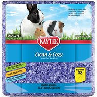 Kaytee Clean and Cozy Small Animal Bedding, Purple, 4-L
