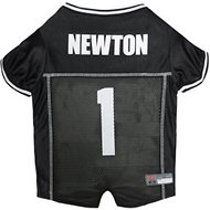 Pets First Cam Newton Mesh Dog & Cat Jersery, Medium