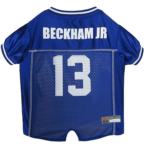 2863f3c4a Pets First Odell Beckham Jr. Mesh Dog & Cat Jersey, X-Large - Chewy.com