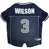 Pets First Russell Wilson Mesh Dog & Cat Jersey, X-Small
