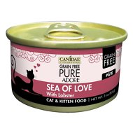 CANIDAE Grain-Free PURE Adore Sea of Love with Lobster Canned Cat Food, 3-oz, case of 18