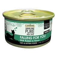CANIDAE Grain-Free PURE Adore Falling For You with Rabbit Canned Cat Food, 3-oz, case of 18