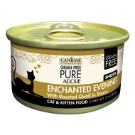 CANIDAE Grain-Free PURE Adore Enchanted Evening with Roasted Quail Canned Cat Food, 3-oz, case of 18