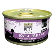 CANIDAE Grain-Free PURE Adore Love At First Sight with Trout Canned Cat Food, 3-oz, case of 18