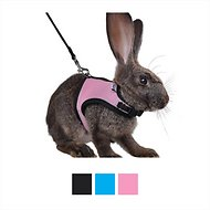Niteangel Adjustable Soft Harness with Elastic Leash for Rabbits
