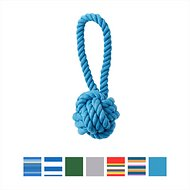 Jax and Bones Celtic Knot Dog Toy, Small, Turquoise