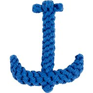 Jax and Bones Anchor Rope Dog Toy, Blue