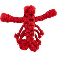 Jax and Bones Louie the Lobster Rope Dog Toy, Large