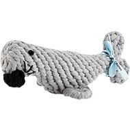 Jax and Bones Sidney the Seal Rope Dog Toy, Small