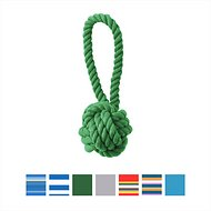 Jax and Bones Celtic Knot Dog Toy, Small, Grass Green