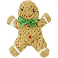 Jax and Bones George the Gingerbread Dog Rope Toy
