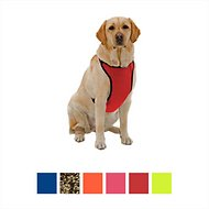 Kumfy Tailz Klimate Cooling/Warming Dog Harness, Red, Medium
