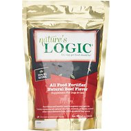 Nature's Logic All Food Fortifier Beef Flavor Dog & Cat Supplement, 12-oz bag