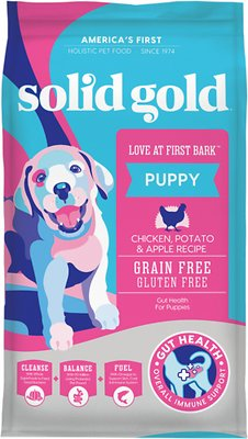 2. Solid Gold Love At First Bark Puppy Recipe Dry Food